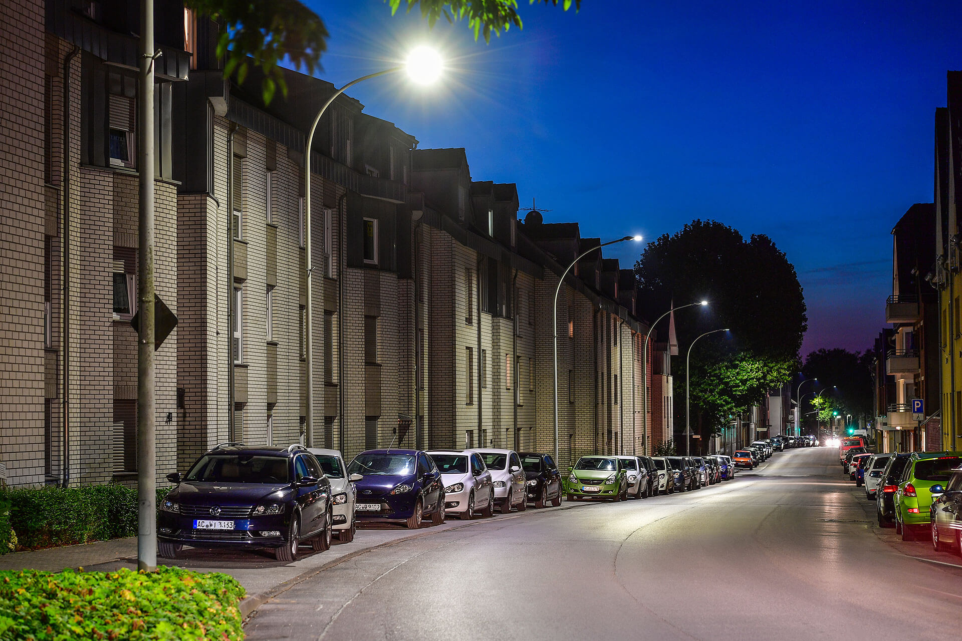 Ampera provides an energy-efficient lighting solution to reduce the carbon footprint of Herzogenrath and Würselen in Germany