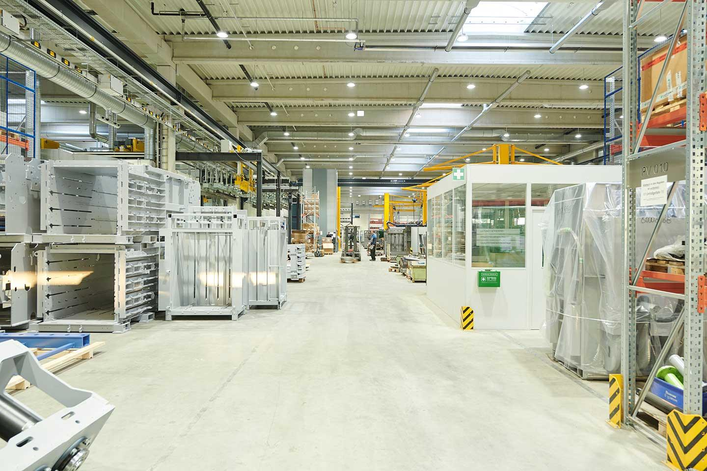 INDU BAY offers a reliable, long life, low maintenance industry lighting solution for Maschinenfabrik Bermatingen